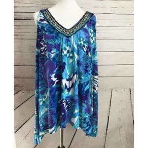 Dressbarn 3X Sleeveless Top